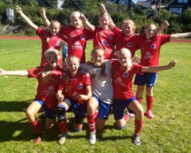 Jenter 13 og jenter 14 er klare for A-sluttspill på Norway cup.